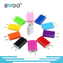 Portable Colorful Single USB Travel Charger Cellphone Charger
