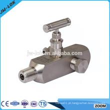 China Fabricante de válvula de pressão de alta pressão, válvula de manômetro