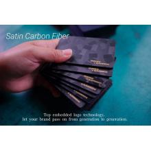 Роскошный держатель для кредитной карты из углеродного волокна