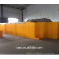 Cesta giratoria de jaula de transporte de jaula de plástico de caja de cartón