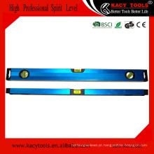 Nível horizontal de alumínio de alta qualidade