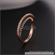 VAGULA Fashion Rose Gold Wedding Ring (Hlr14176)