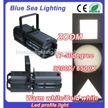 200w LED Cool/warm White rgbw profile ellipsoidal zoom profile light