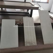 Plaque en aluminium refroidie à l'eau pour panneau de capteur solaire