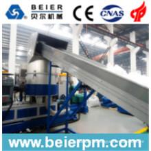 Línea de producción de aglomeración de pellet / Granulación de 140-180 kg / H en frío PE / PP y Reciclaje de bolsas y granulación
