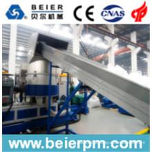 140-180 kg / H Frio PE PE / Filme Plástico PP / Saco de Reciclagem e Pelletização / Granulação Aglomeração Linha de Produção