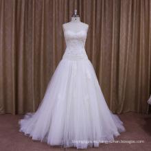 Vestido de boda caliente de la venta del último diseño de la fábrica del OEM