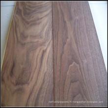 Plancher de bois de noyer américain machiné par ménage / plancher de bois dur