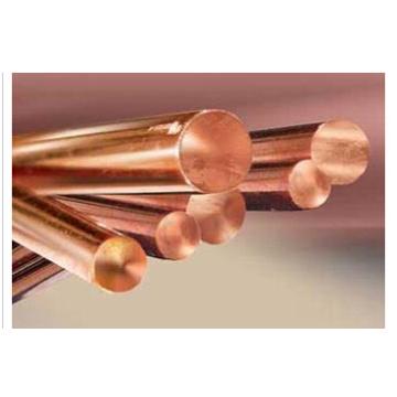 Polvo de cobre, varillas de cobre
