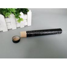 Tubo de embalagem de alumínio preto para a embalagem do charuto (PPC-ACT-036)