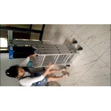 Escalera de aluminio multiusos de fibra de vidrio FRP