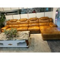 Nova chegada sofá de couro moderno, sofá do estilo de Europa (A62)