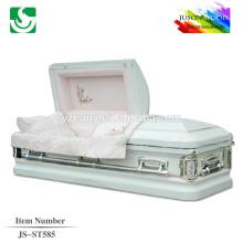 JS-ST585 steel casket store