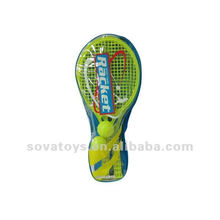 ADULT OUTDOOR GAMES RACKET WITH DOUBLE BALL