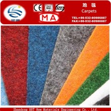Fire Retardant Velour Nonwoven Carpet for Conference Room