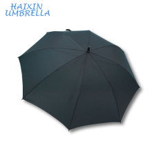 Windproof Big Size Enough 30 Inch Black Umbrellas Oversize Inch High Quality Rain Promotional Pongee Branded Umbrella For Golf