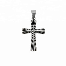 33753 xuping  Religion series 2018 Simple design fashion  black gun color  cross pendant