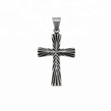 33753 xuping  Religion series 2018 Simple design fashion  black gun color  cross pendant