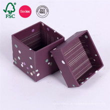 Fancy Custom Storage Deckel Karton Papier Geschenkbox