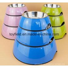 Haustierfutter Portable Katze Schüssel Hundeschüssel