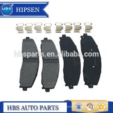 Kits de plaquettes de disque de frein avant OEM # DC3Z-2200-D pour F super F350 F350 F450 Super (2005-2015)