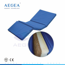 AG-M012 4-Foldable fabric cover inner foam padded medical hospital bed mattress