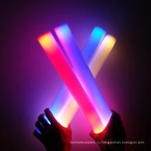 цвет изменение свет вверх LED пена палочки