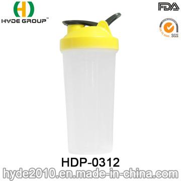 Botella plástica libre de la sacudida de la proteína de BPA 700ml (HDP-0312)