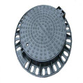 EN124 D400 ductile iron casting round manhole cover