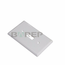 YGC-011 GFCI fireproof household american pvc plastic wall plate