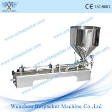 Máquina de enchimento de creme semi-automática pneumática do aço inoxidável