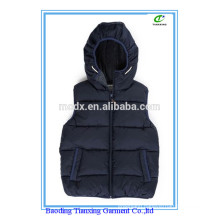 boys hooded gilet sleeveless jackets