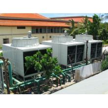 Top Kosten Leistung FRP Square Wasserkühlturm