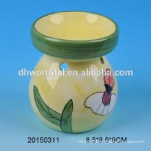 Colorful ceramic oil burner for home decoration