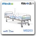 Дешевая кровать для больниц из нержавеющей стали, оборудование для больничной палаты MS203