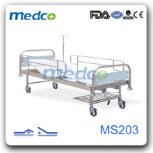 Cheap Stainless Steel Hospital Bed, Hospital Ward Equipment MS203
