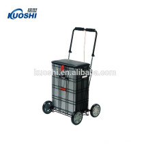 4 wheels market trolley bag for lady