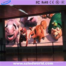 Propaganda video da exposição interna da tela do diodo emissor de luz da cor HD2.5 completa