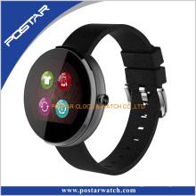 Relógio Multifunction do smartwatch do telefone móvel da taxa de coração do teste do cartão de SIM
