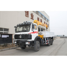 Off Road North Benz Truck dengan Hydraulic Crane