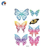 145*210mm Butterfly series boay tattoo sticker in Foshan