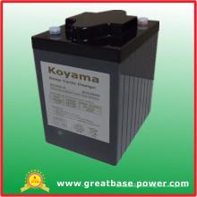 Batterie de cycle profond de haute qualité 225ah 6V