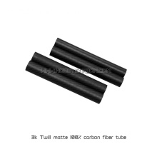 6X4mm 3K Twill Matt Runda Carbon Fiber Pipe