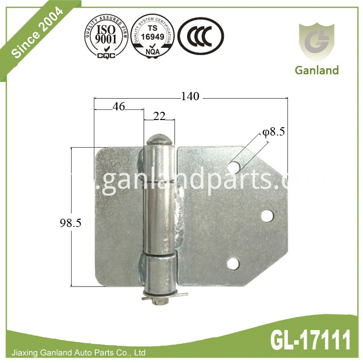 semi trailer door hinge gl-17111