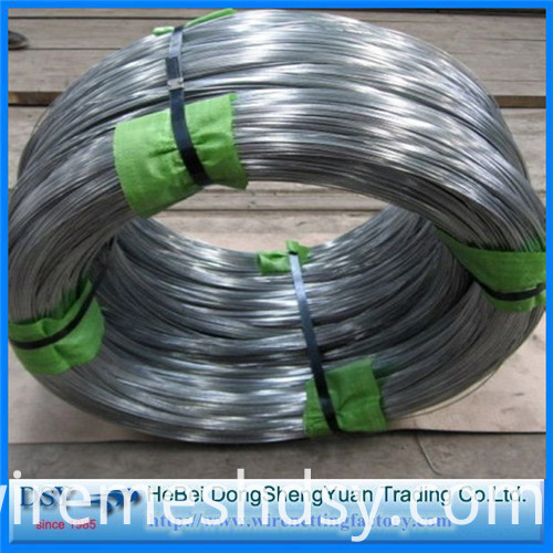 Galvanized wire