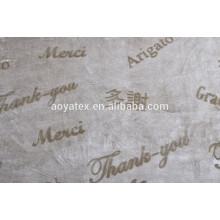 2018 NUEVO ESTILO gracias manta de lana de franela en relieve teñida parte inferior