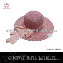 Chapéu de balde chapéu de disquete chapéu de palha flexível chapéu de flexão das senhoras