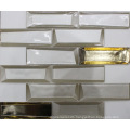 Simple 3D Glass Crystal Mosaic