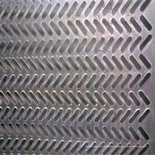Hoja perforada del acero inoxidable 304, 304L, 316, 316L
