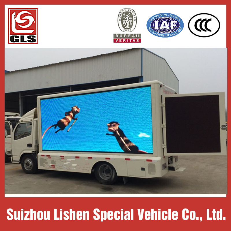 led screen advertising truck